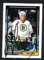 Glenn Murray #370 signed autograph auto 1992-93 Topps Hockey Trading Card