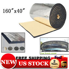 Car Sound Deadener Car Heat Shield Insulation Deadening Material Mat 6mm 160