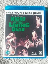 Night Of The Living Dead blu-ray UK edition region B will not play on US players
