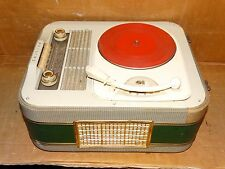 Vintage Phillips Tube Short Wave Radio w/4-speed Record Player*Very Rare* Parts/