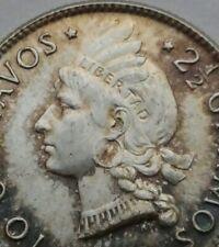 Dominican Republic 10 Centavos 1959. KM#19. .900 Silver Dime Ten Cents coin.