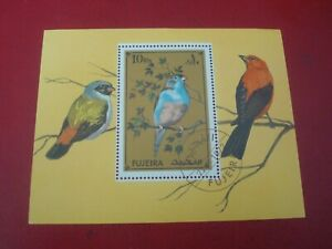 FUJEIRA - 1972 BIRDS - MINISHEET - UNMOUNTED USED MINIATURE SHEET