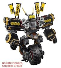 LEGO 70632 - The Ninjago Movie - Quake Mech - NO MINI FIGURES, STICKERS / BOX