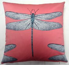 """Harlequin 'Demoiselle"""" Coral, Mint  Cushion  Cover by Anderson Castle Designs"""