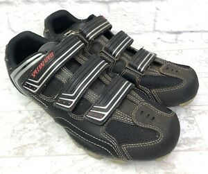 Specialized Mountain Bike Boots Shoes Womens Size 10 Black Clip In Hook n Loop