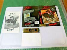 ZORRO - APPLE II GAME - 1985 DATASOFT SOFTWARE