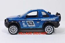 2016 Matchbox Land Rover Set Land Rover Freelander BLUE METALLIC/MINT
