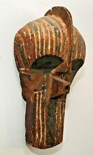 Antique Mask African Songye Kifwebe Male Mask, Lubba, Drc