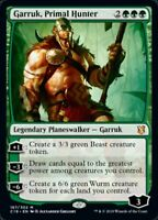 Garruk, Primal Hunter x4 Magic the Gathering 4x Commander 2019 mtg card lot
