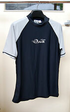 Adult Rashes Top Lycra Top Rashes, Grey/Black, Size available L and XL