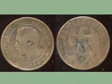 FRANCE  FRANCIA   10 centimes NAPOLEON III   1856 K   (2)