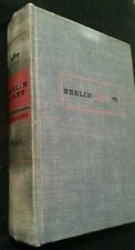 Berlin Diary Book The Journal of a Foreign Corespondent 1934-1941 Hardcover