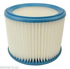 Nilfisk Wap Alto Attix 8 12 & 19 Gallon Vacuum Cleaner Filter Washable Cartridge