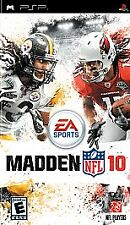 Video Game PSP Madden NFL 10 2010 PlayStation Portable 200  NEW READ Free Ship
