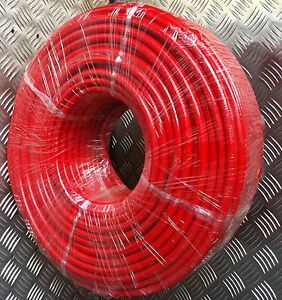 The BEST Reinforced 8mm x 100mtr RED Microbore Minibore WFP Water Fed Pole hose