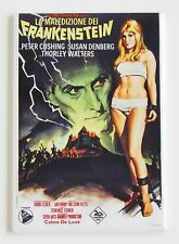Frankenstein Created Woman (Italy) FRIDGE MAGNET (2.5 x 3.5 inches) movie poster