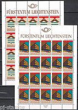 Europa CEPT 1990 vellen Liechtenstein 984-985 cat waarde € 52