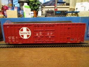 Atlas O 8625-11 Santa Fe 60' Berwick Hy-Cube Box Car #37572 in 3-Rail