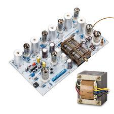 Retro Vacuum Tube FM Radio Tuner Wireless Stereo Receiver Board + Transformer