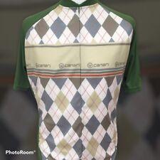 Canari of USA Argyle Style Cycling Jersey XL