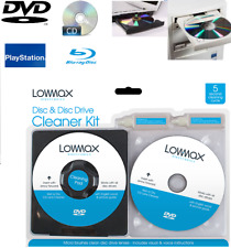 Laser Lens Cleaning Kit for PlayStation XBOX BLU RAY DVD PLAYER CD Disc UK