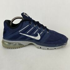 Nike Mens 9 Air Max Excellerate 4 Running Shoes Blue Gray 806770-400