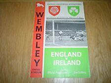 ENGLAND  V  N.IRELAND      1965