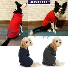 Ancol Muddy Paws Dog Puppy Cable Knit Jumper Sweater Coat NEW 2019