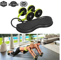 Abdominal Double Roller Wheel Training Workout Fitness Machine Equipment Trainer