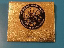 Petroleum Club of Tulsa w/30 Matches Matchbook Tulsa Oklahoma OK Oil Capital
