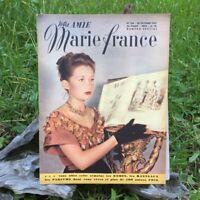 Votre Amie Marie France  N°154 - 28 Octobre 1947 - Ancien Magazine Français