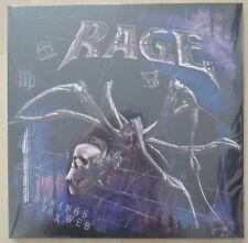 RAGE Strings to a Web Vinyl LP Running Wild, Overkill, Hammerfall, Accept, Venom