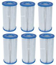 Bestway Poolfilter 6x Filterkartusche Kartuschen Filter Gr.3 Filterpatrone 58012