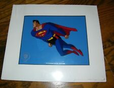 Warner Bros Superman Animated Cartoon Sericel Promotional 1996 With COA NEW