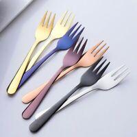 Flatware Small Tableware Mini Cutlery Stainless Steel Dessert Fork Fruit