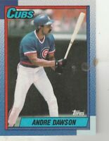 FREE SHIPPING-MINT-1990 Topps Andre Dawson Chicago Cubs 140