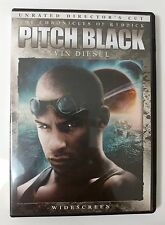 Video Dvd - Pitch Black - Riddick Vin Diesel Unrated Ws - New Open Worldwide