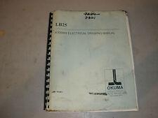 Okuma CNC Lathe LB25 A30006A Electrical Drawing Manual