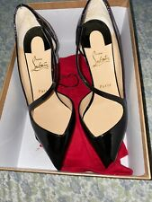 Brand New Christian Louboutin Rondaclou 60 Patent Leather Heels 38 (8)