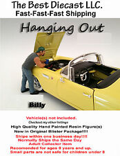 Billy  American Diorama 1:24  Hanging out Figure For diecast Displays & Dioramas