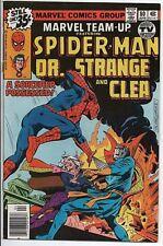 MARVEL COMICS Marvel Team-up #80 FN Spider-Man, Dr. Strange and Clea Apr.'79