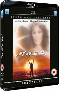 Mask (1985) Director's Cut - Cher - Blu-Ray BRAND NEW (USA Compatible)
