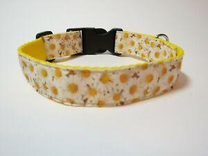 "Daisy Dog Collar Size Medium 14""-18"""