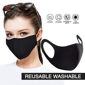 Reusable Face Masks Covering Washable Breathable Dust TFL Hospital Visitor UK