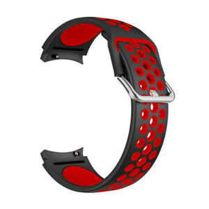 For Samsung Galaxy Watch 4/Classic Silicone Sport Watch Band Strap 40/42/44/46mm