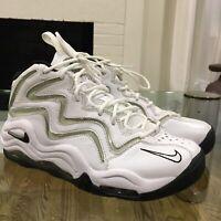 Nike Air Pippen Retro White/Silver/Black (325001-101) US MEN'S SIZE 7 (NO BOX)
