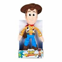 "DISNEY TOY STORY 4 - WOODY - SOFT TOY - 10"" (25CM) BOXED - NEW - POSH PAWS"