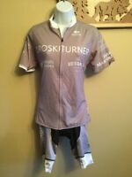 Lot Sugoi Womens Evolution Short Sleeve Full ZIp Jersey & Padded Cycling Shorts