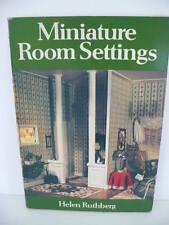 Miniature Room Settings Bookby Helen Ruthberg