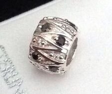 925 sterling silver bead charm Bead With Crystals Slides European